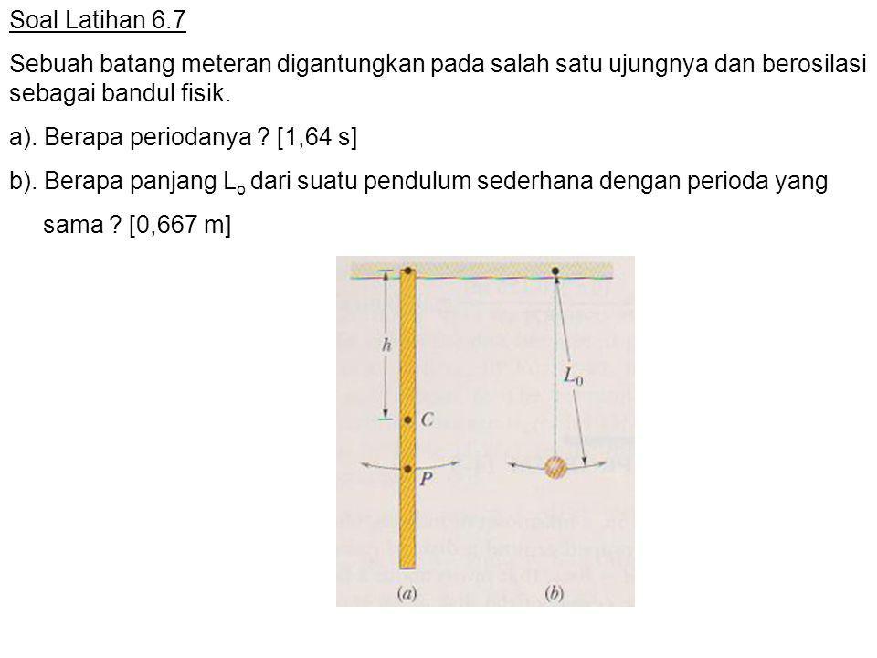 a). Berapa periodanya [1,64 s]